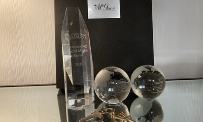 "Luxury Real Estate Awards ""Social Media Saavy"" to McGarr Realty Corp., Brokerage"